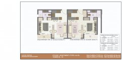 1 BHK+1T (575 & 595 sq ft apartment )
