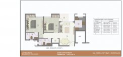 2 bhk kba layout 975 sq ft