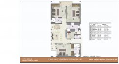 3 bhk (1420 sq ft)layout kpa apartments in jaypee