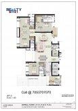 4 bhk floor plan jaypee imperial court