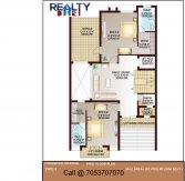 4 bhk 3850 sq ft KWO  floor plan b