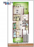 5 bhk 4700 sq ft floor plan a