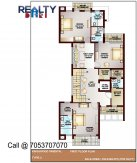 5 bhk 4700 sq ft floor plan b