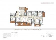 4 bhk floor plan-4145 sq ft